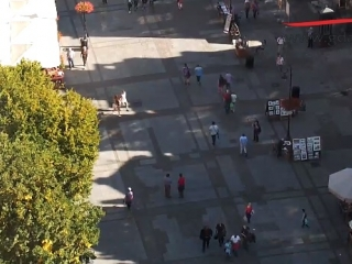 Gdańsk kamera IP na Długi Targ - Kamery na drogach