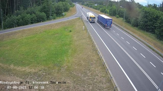Droga do Szczecina DK 3